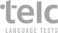 Logo telc LANGUAGE TEST
